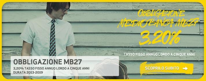 obbligazione chebanca mb27